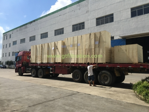 Cartridge Dust Collector Loading  RH/XLC, RH/HY, RH/MC