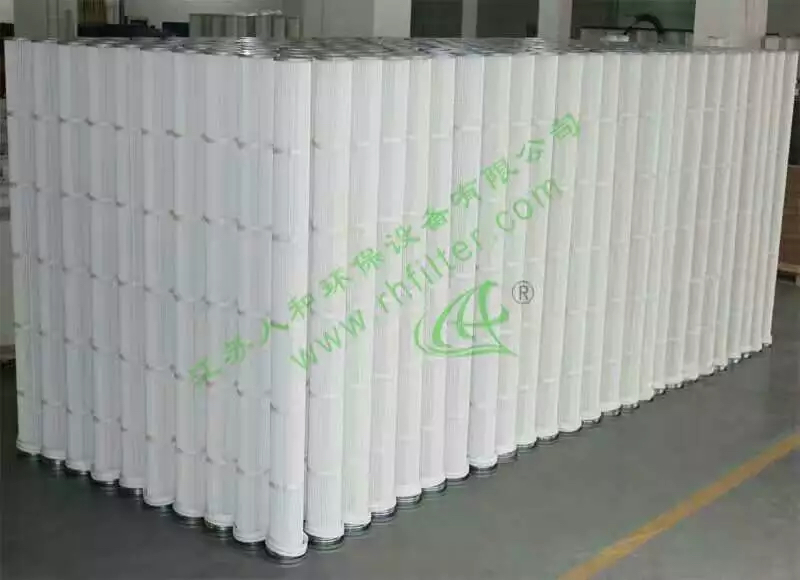 BHA FIlter Cartridge, pleated bag filter, pleated filter cartridge